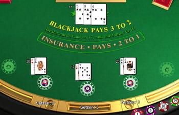 blackjack karten regeln