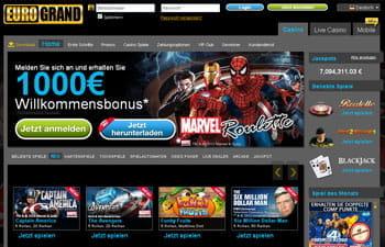 Online casino eurogrand игровые автоматы dolphins онлайн