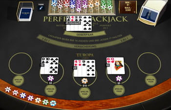 Black Jack im Playtech Casino