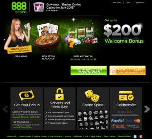 888 casino sitz