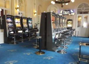 Automatenspiel im Casino Bellevue Marienbad