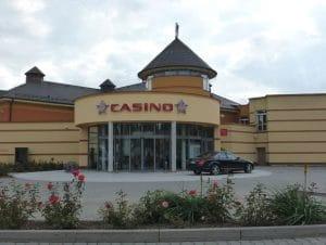 King Casino von der Strasse