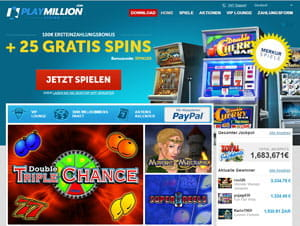PlayMillion Casino online