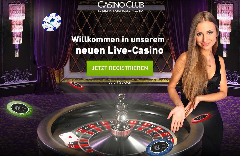 casino club live roulette