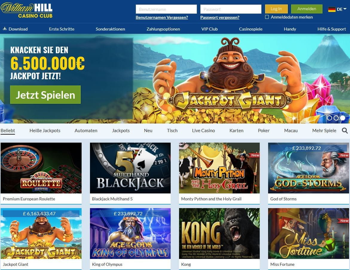 william hill casino erfahrungen
