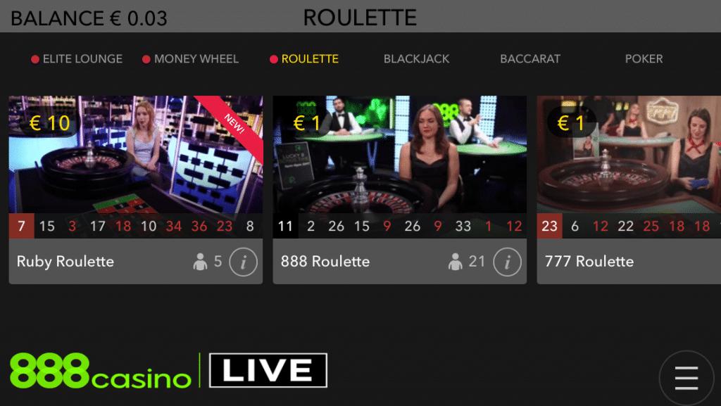 888 casino app funktioniert nicht