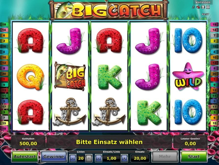 Novoline Big Catch Slot
