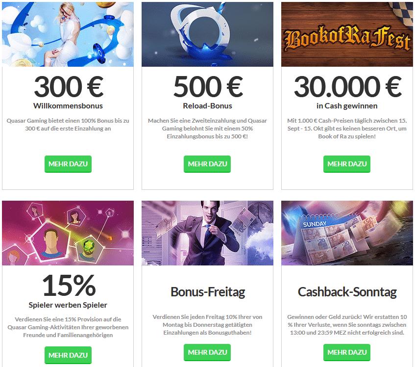 Online Casino Quasar