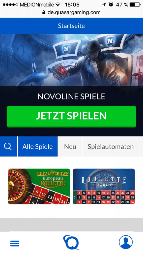 Online Gaming Quasar