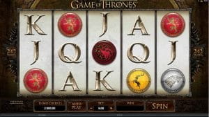 Microgaming Game of Thrones Slot