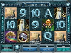 Thunderstruck II - Spiele Spielautomat