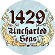 Game Logo vom Slot 1429 Uncharted Seas von Thunderkick