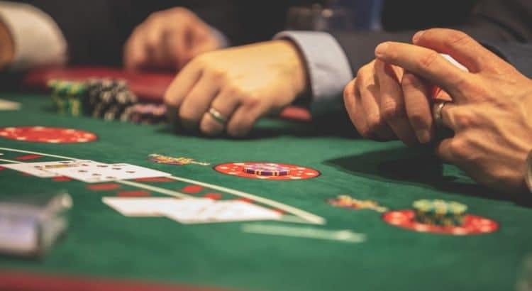 Pokerspiel.