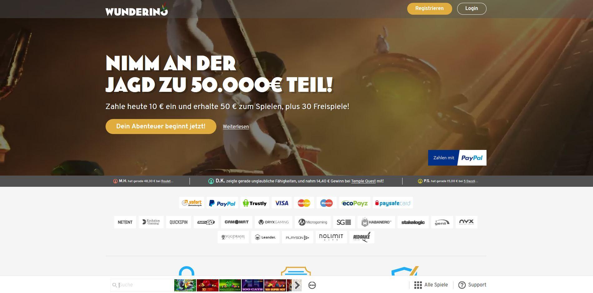 casino online paypal deutschland
