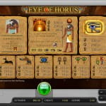 Eye of Horus Spiele